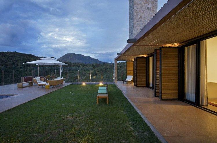 巴西豪华山庄别墅设计