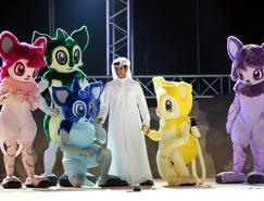 2011卡塔尔亚洲杯吉祥物揭晓