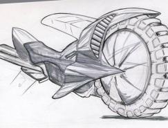 21款概念摩托车CG作品