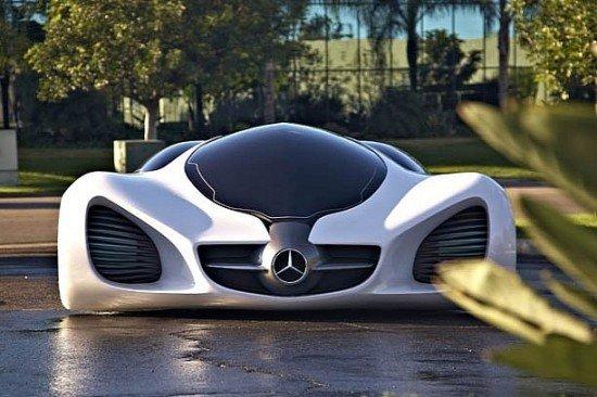 奔驰Biome四座超跑概念车