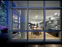 蒙特利尔一套复式公寓室内设计欣赏