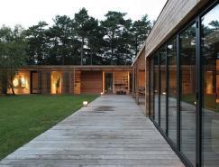 瑞典Bergman–Werntoft林间美丽住宅设