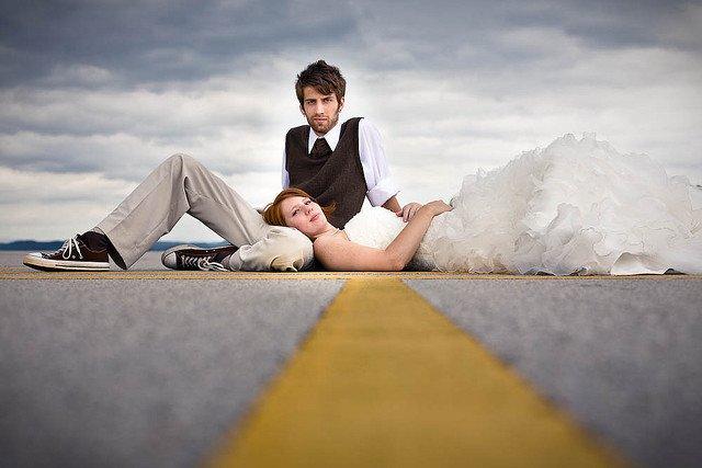 25张国外创意数码婚纱摄影作品