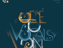 文字排版的艺术:50张国外海报设计欣赏