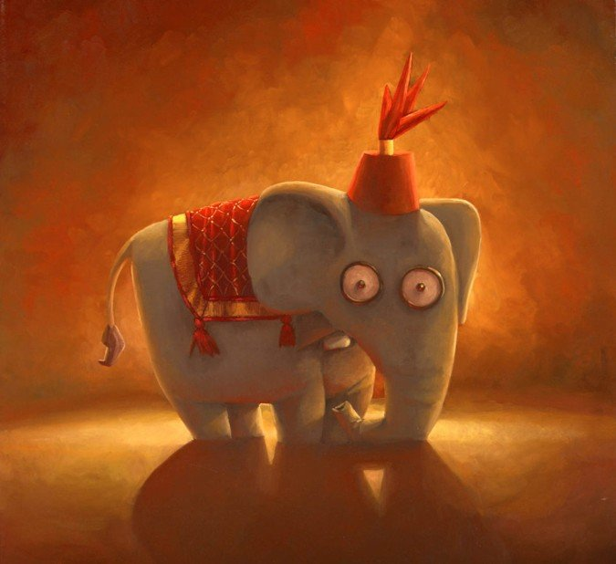 shane devries可爱童趣插画作品