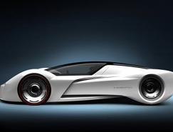 SamirSadikhov作品:2020年Incepto概念跑车