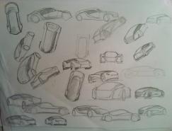 AstrumMeera概念车设计过程