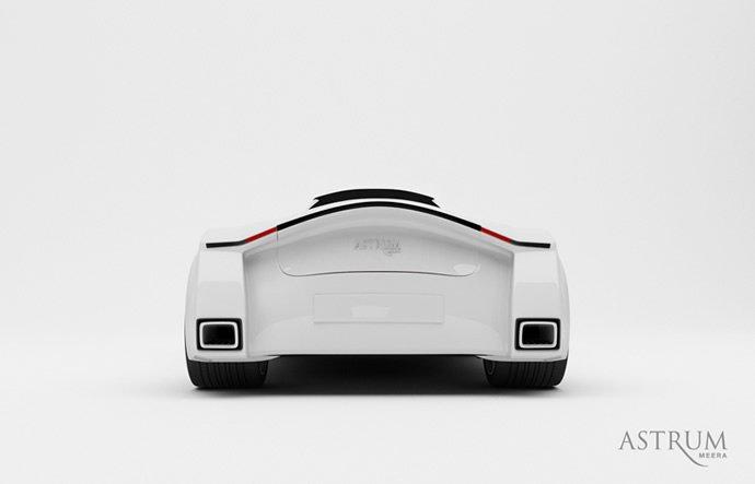 Astrum Meera概念车设计过程 2 设计之家