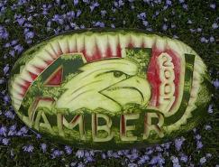 令人惊叹的的西瓜创意雕塑