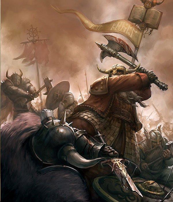游戏CG艺术插画:战锤(Warhammer)