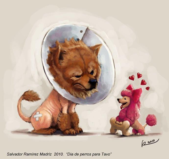墨西哥插画师SalvadorRamirez角色设计欣赏