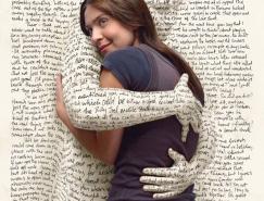 创意欣赏:美妙的文字艺术