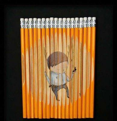 铅笔上作画:Ghostpatrol绘画艺术