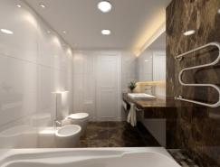 國外現代華麗的浴室設計