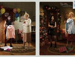 圣诞主题平面广告设计