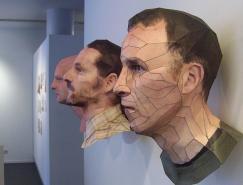 BertSimons:用紙做的立體肖像