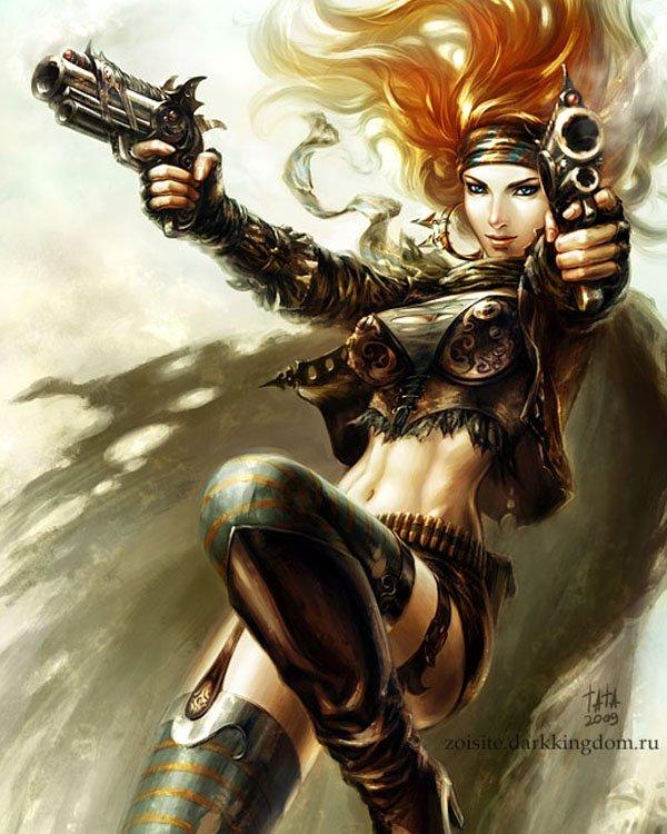 游戏人物角色概念设计欣赏