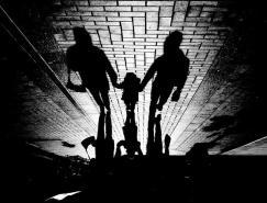 NORA:陰影與倒影的黑白影像