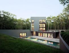 纽约长岛Sagaponac现代住宅设计