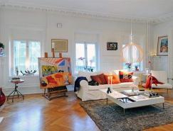 瑞典北歐風情的大戶型公寓設計