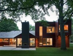 创意改造:现代农场住宅设计