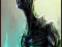 <b>44張外星人概念插畫欣賞</b>
