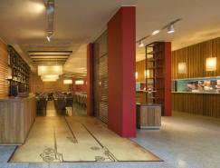 巴西VilaGiannina餐厅室内设计
