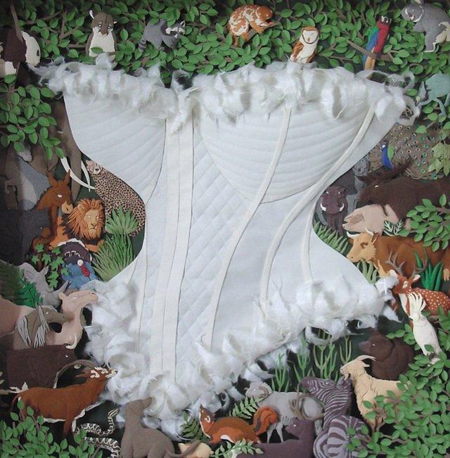 韩国艺术家Cheong-ahHwang立体纸塑艺术