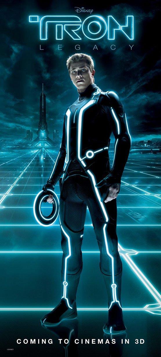 创战纪高清国语_创:战纪(Tron: Legacy)电影海报设计(3) - 设计之家