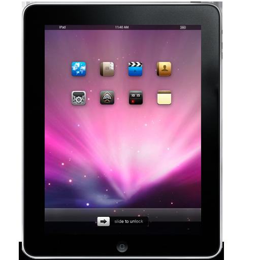 苹果ipad平板电脑png图标 512x512