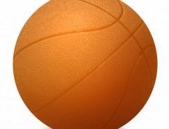 6个球类PNG图标500x500