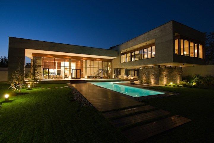 伊朗漂亮的现代别墅设计