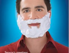 超酷的圣诞题材创意广告