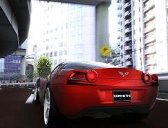 JamesRobbins设计的Corvette概念跑车