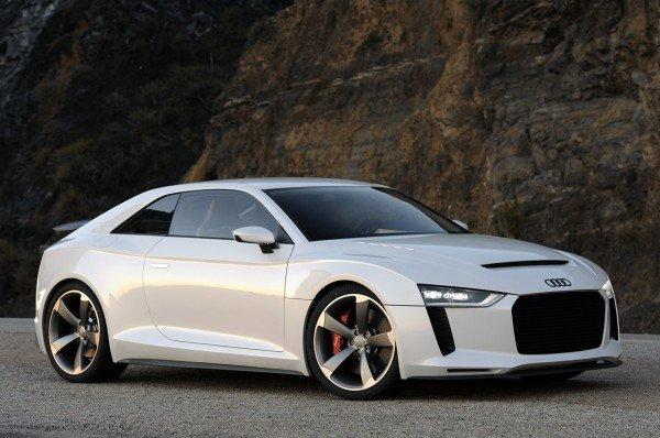 奥迪Quattro概念车设计