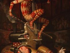 罗马尼亚艺术家AdrianBorda作品欣赏