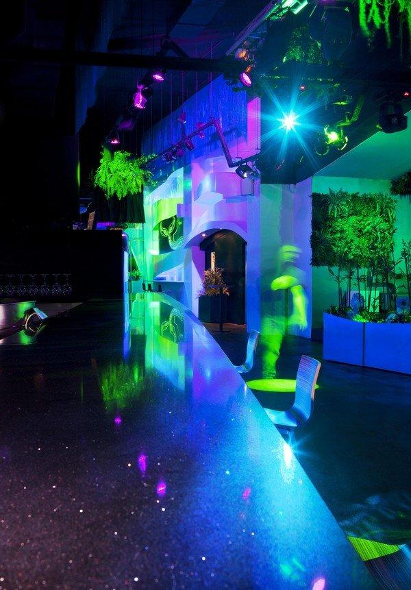 梦幻般的海底世界:blub酒吧室内设计