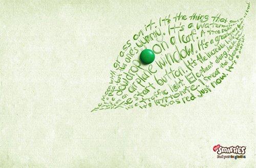 平面广告:漂亮的文字设计(2)图片