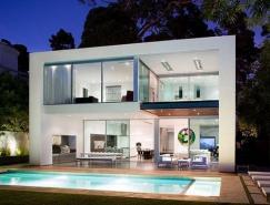 圣莫尼卡恬静舒适的现代住宅设计