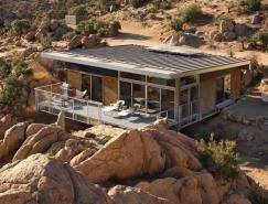 加州Mojave沙漠中的住宅设计