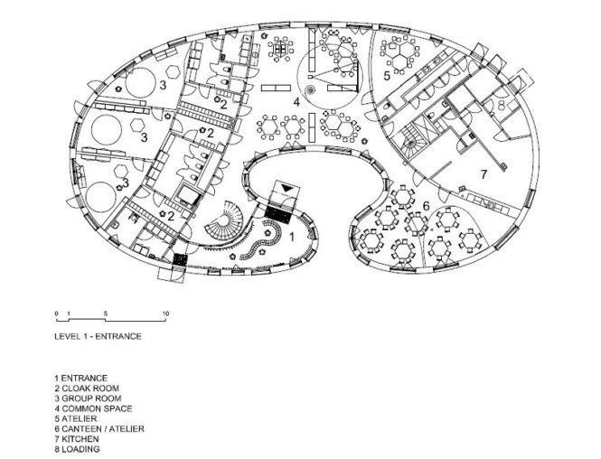 建筑欣赏:瑞典tellus幼儿园(2)