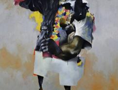 艺术家JoramRoukes混搭绘画作品
