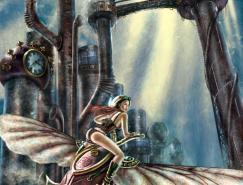 杰出的蒸汽朋克风格插画欣赏(一)