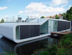 阿姆斯特丹Amstel河漂亮的船屋设计