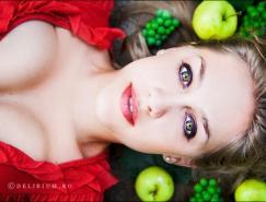 摄影师AndreeaRetinschi:色彩缤纷的女性摄影