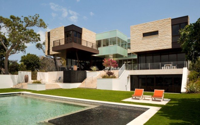 HughesUmbanhowar设计的美丽河岸别墅