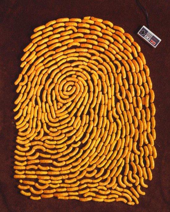 KevinVanAelst令人惊叹的指纹艺术