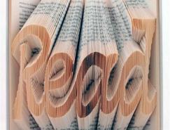 IsaacSalazar的折叠书艺术