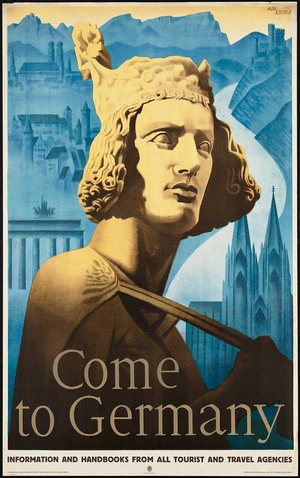 国外老式旅游海报设计(2)