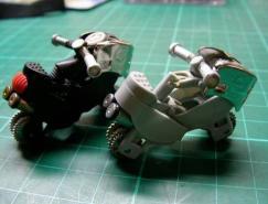 创意:打火机变形成摩托车